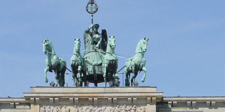 Quadriga auf dem Brandenburger Tor - Foto: Helge May